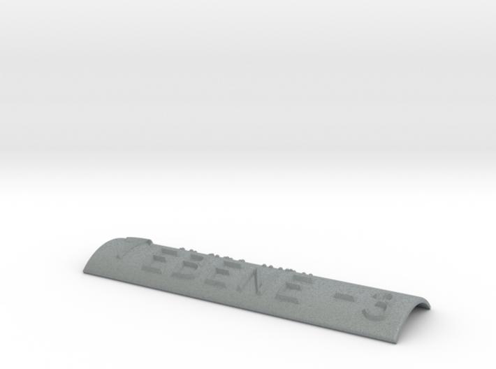 EBENE -3 mit Pfeil nach oben 3d printed