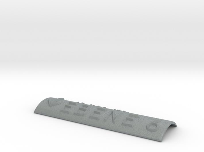 EBENE 6 mit Pfeil nach unten 3d printed