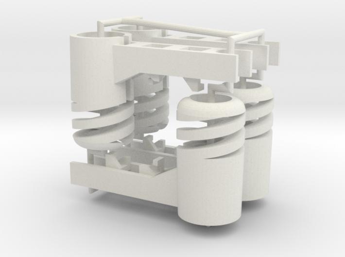 Crazyflie 2.0 spring motor mount (4x) 3d printed