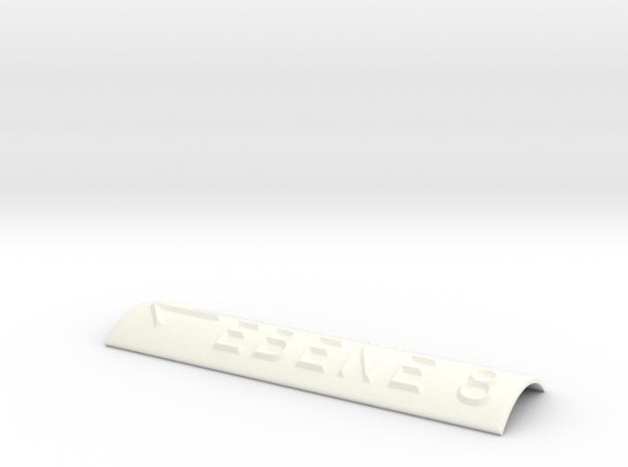 EBENE 8 mit Pfeil nach links 3d printed