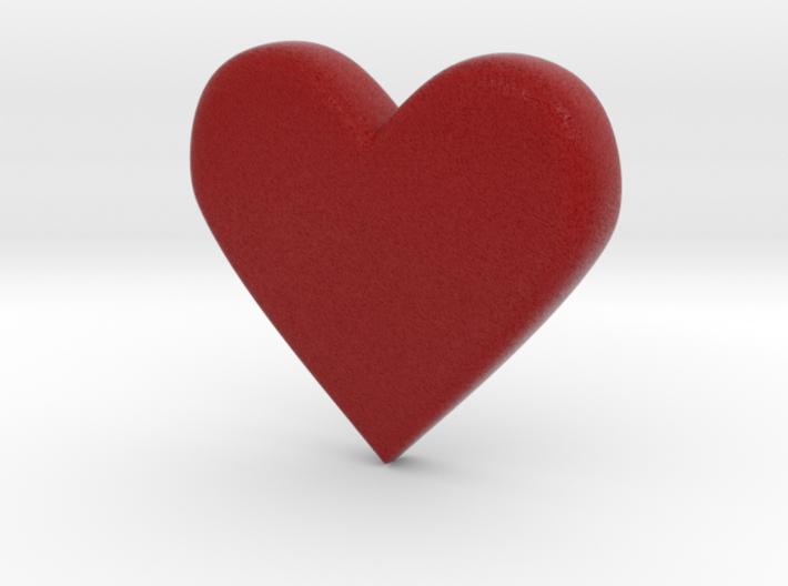 Emoji Heart 3d printed