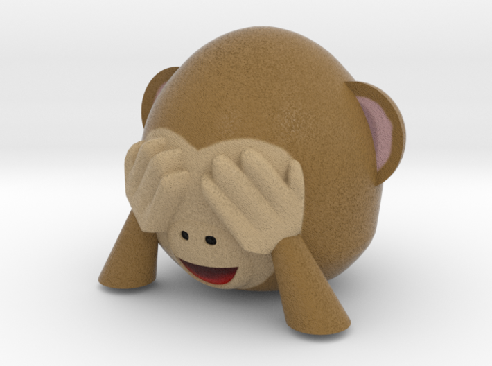 Monkey1 3d printed