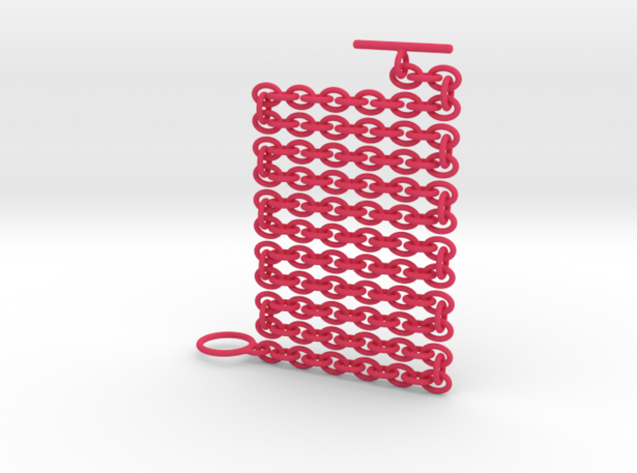 Basic Oval Chain - 24in 3d printed