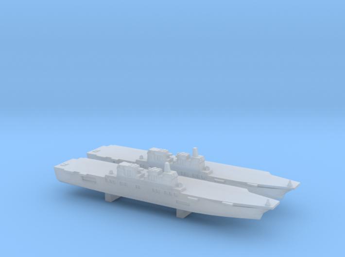 Hyuga-class DDH x 2, 1/6000 3d printed