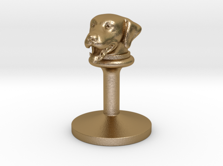 doggy wax seals stamp (20mm) 3d printed