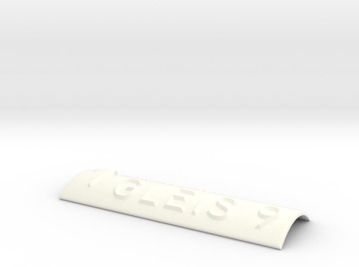 GLEIS 9 mit Pfeil nach oben 3d printed