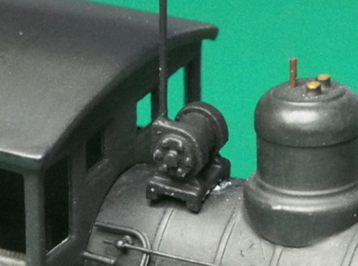 HO scale Turbo Generator for steam locos x6 3d printed Fitted to one of my converted locos.