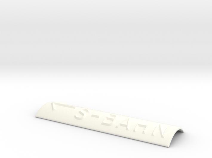 S-BAHN mit Pfeil nach links 3d printed
