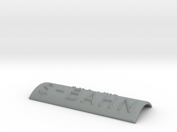 S-BAHN 3d printed