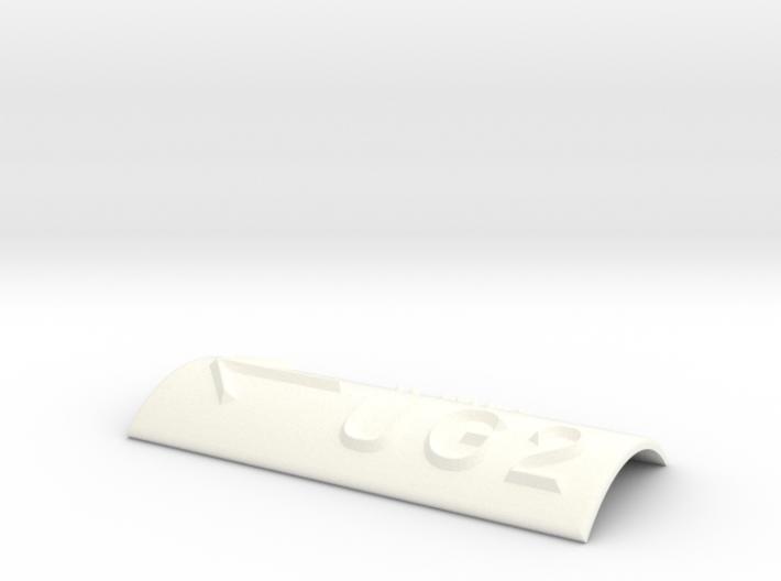UG 2 mit Pfeil nach links 3d printed