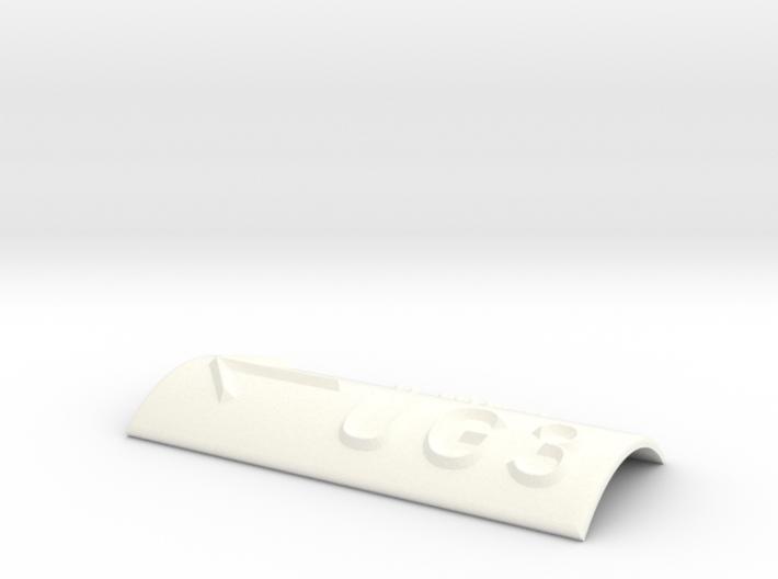 UG 3 mit Pfeil nach links 3d printed