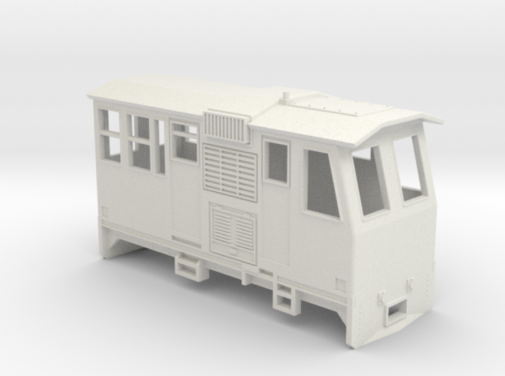 HOn30 Control Car (Kate 3P) 3d printed