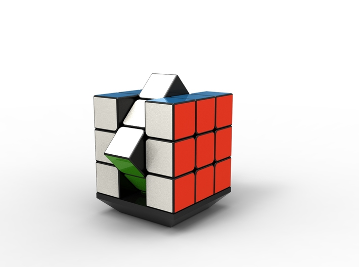 Rubiks Cube Stand v1  3d printed