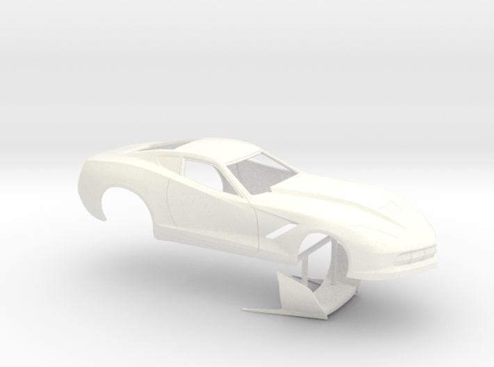 1/32 2014 Pro Mod Corvette No Scoop 3d printed