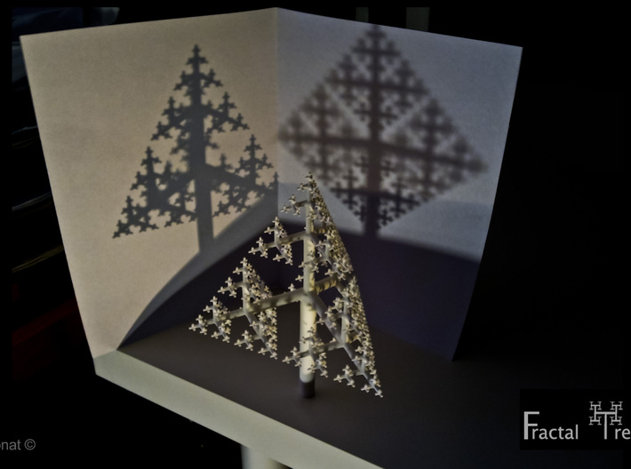 Sierpinski Tree 85mm 3d printed