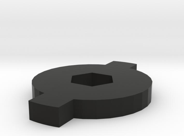 Cap for Micro Piggy Bank 3d printed