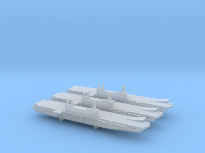 ITS Cavour x 3, 1/6000 3d printed