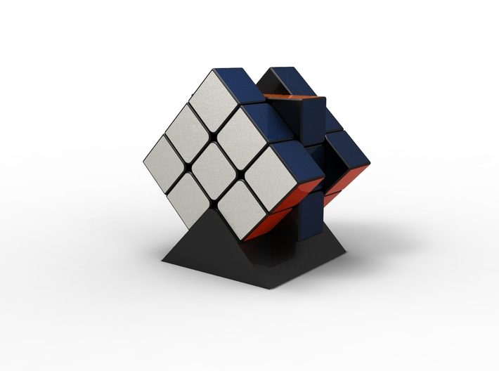 Rubiks Cube Stand  3d printed