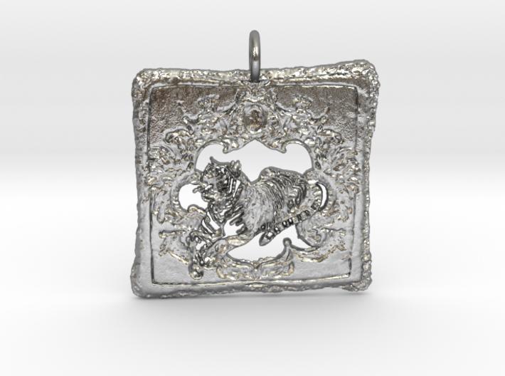 Wild Lux Pendant 3d printed