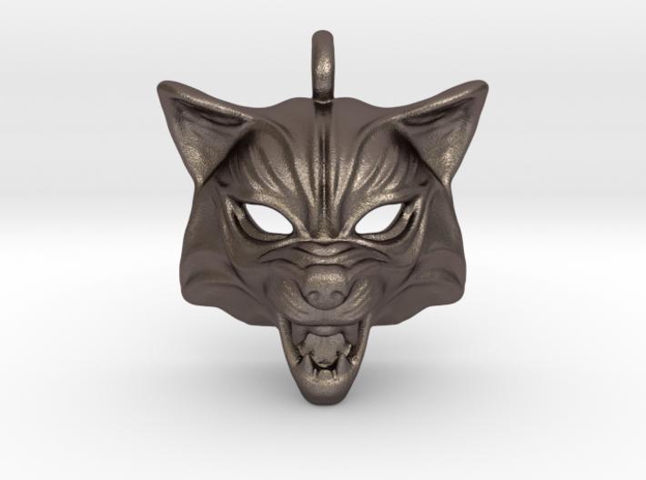 Fox type 2 Pendant 3d printed