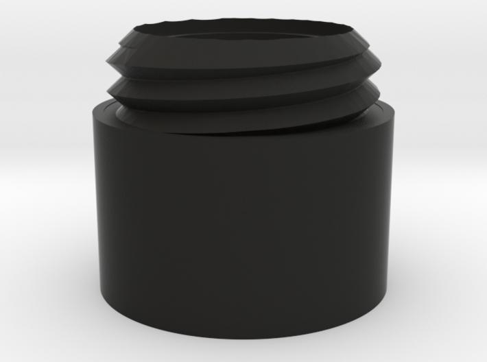 Modular DTK AK Silencer: Extension 3d printed