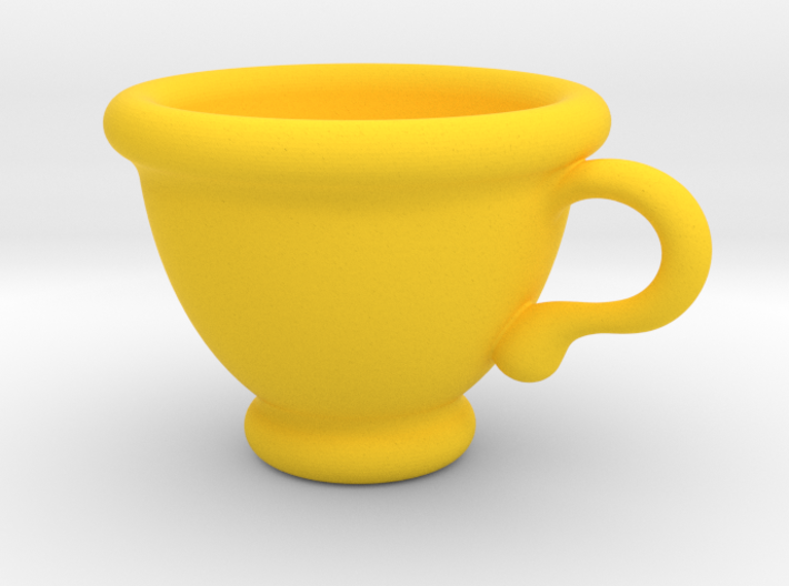 Coffee Cup Pendant 3d printed