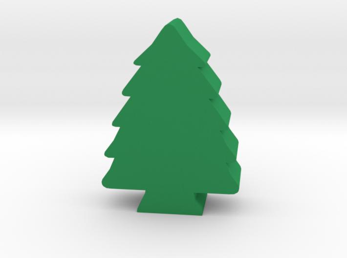 Game Piece, Pine Tree 3d printed