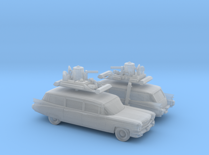 1/160 2X 1959 Cadillac Station Wagon with Roof Rac 3d printed