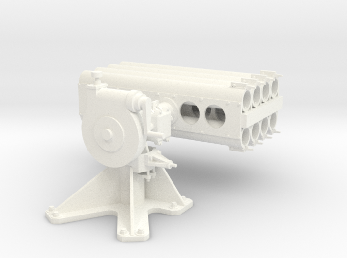 1/24 5 inch Rocket Launcher Mark 50 in Strong 3d printed