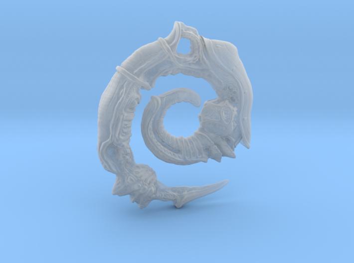 Alien Swarm Earring 3d printed