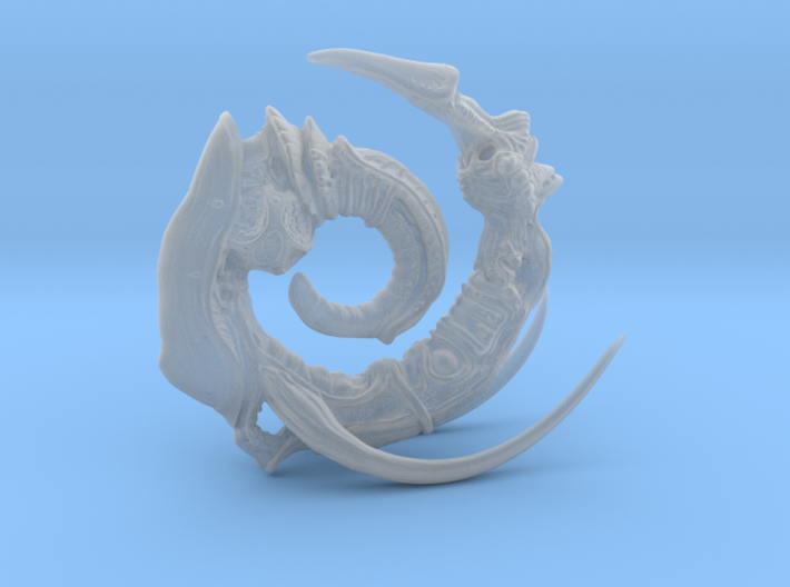 Alien Swarm Statue  3d printed
