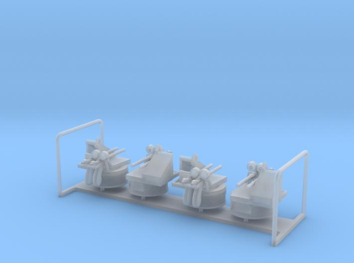 Twin Oerlikon Powered x 4 1/144 3d printed