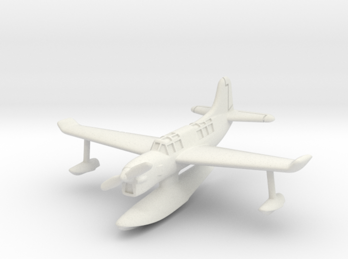 Curtiss SO3C Seamew (with floats) 6mm 1/285 3d printed