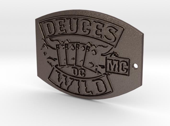 DW Keychain 3d printed