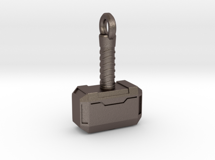 Mjolnir Keychain 3d printed
