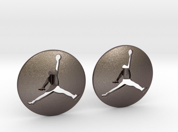 Jumpman Cufflinks v3 3d printed