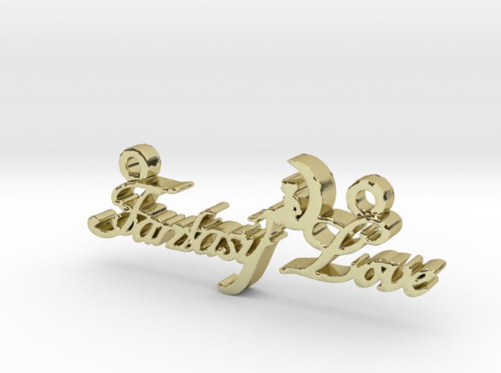 Fantasy Love® Pendant  3d printed