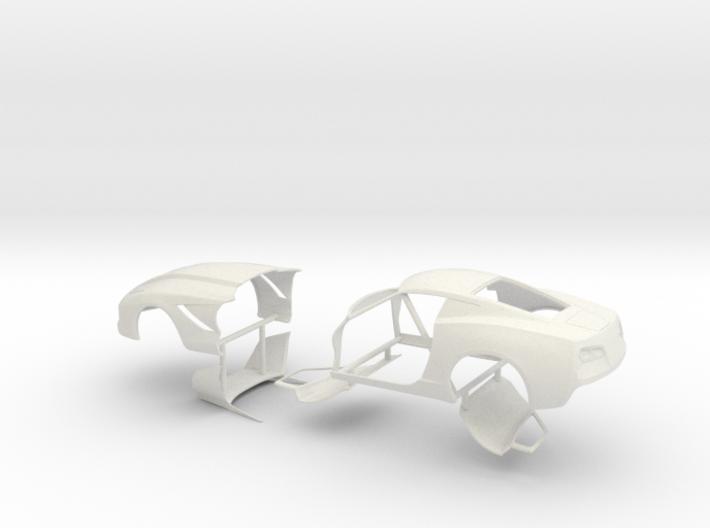 1/12 2014 Pro Mod Vette No Scoop Sep Doors And Hoo 3d printed