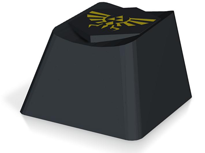 Zelda Triforce Cherry MX Keycap 3d printed