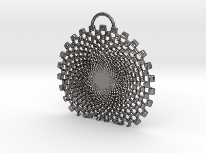 Vexate Pendant 3d printed