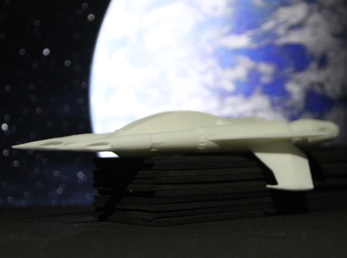 Thunder Fighter (Buck Rogers), 1/72 3d printed