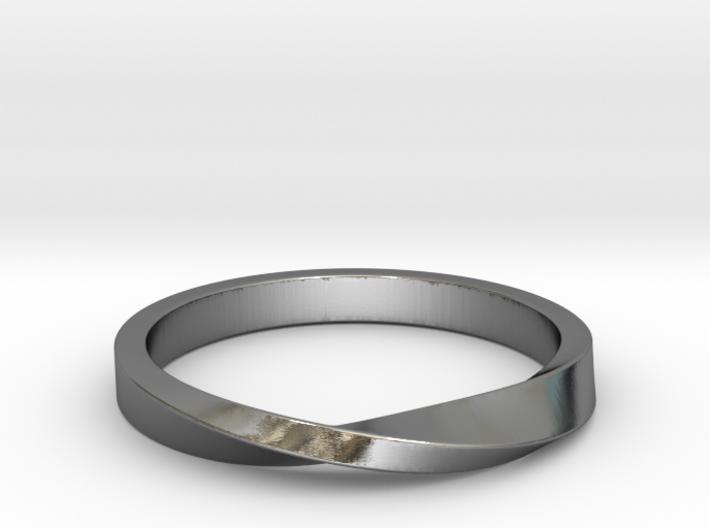 Mobius Ring II 3d printed