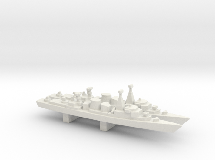 Jacob van Heemskerck-class frigate x 2, 1/3000 3d printed