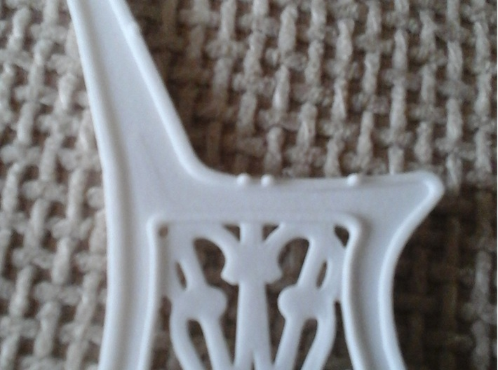 GWR Bench side  - 1/12 Dolls House scale 3d printed