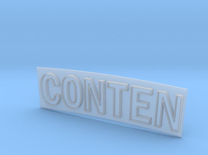 CONTEN 3d printed