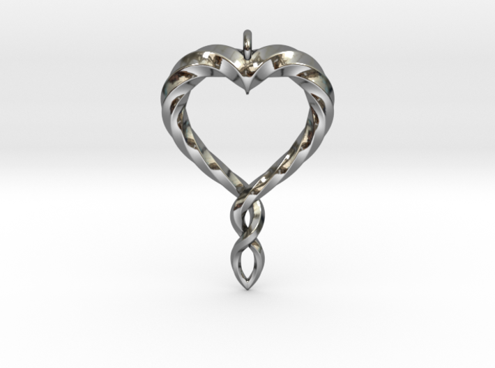 Twisted Heart New 3d printed