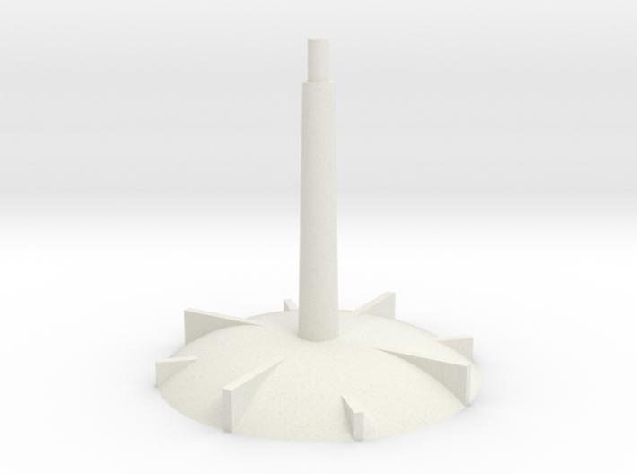 Base - medium stem 3d printed