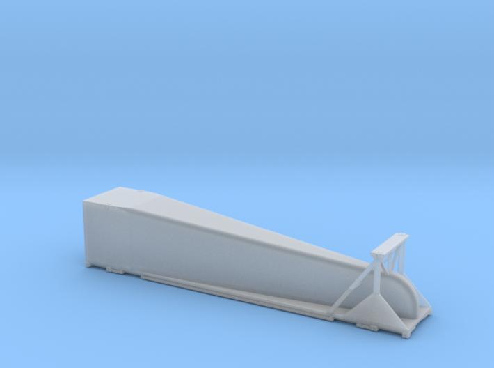 N scale 1/160 Doublestack Arrowedge - aerodynamic  3d printed