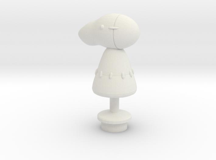 Custom Dummy Inspired Lego 3d printed