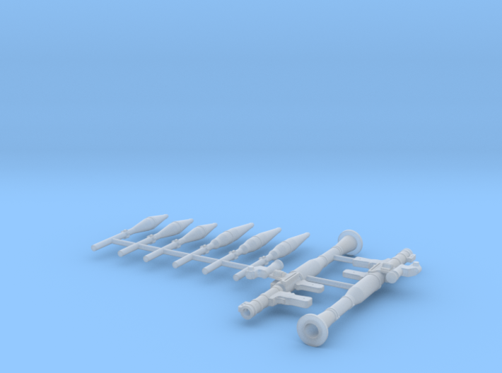 1:24 RPG 7 rocket launcher  3d printed